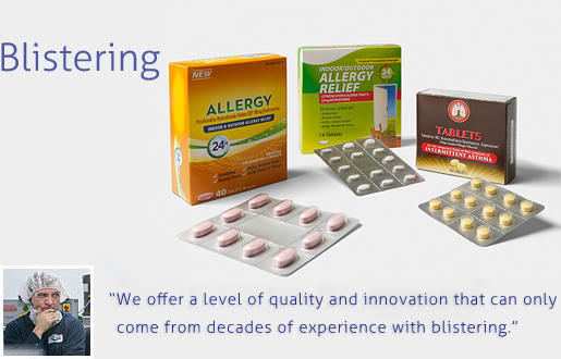 Blistering Packaging Services