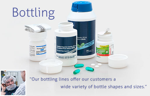 Our Bottle Filling Services