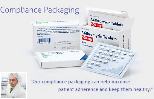 Pharmaceutical Compliance Packaging